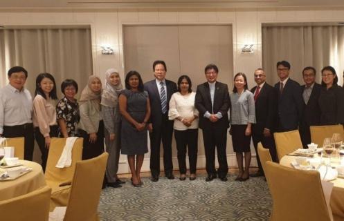 拿督劉康捷受邀出席「2019臺馬產業鏈結高峰論壇」暨工總歡迎晚宴