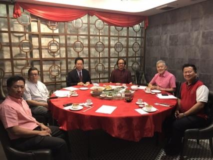 劉康捷:兩協會新春暢談合作 攜手造福國家